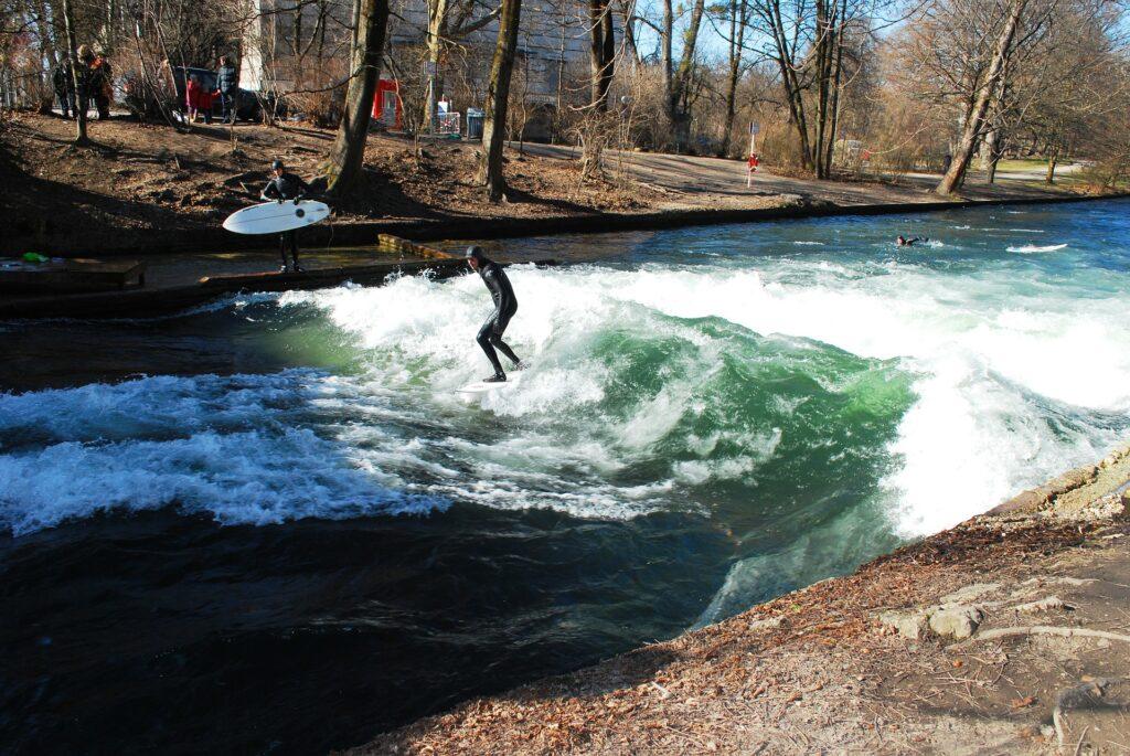 Surfen in der Stadt – wie verrückt ist das denn?